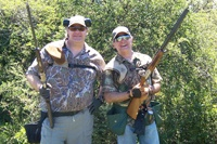 Brian S. Parsley. M.D, Dove Hunting In Argentina, Houston