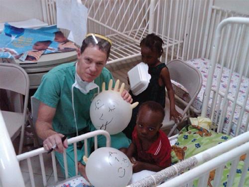 Brian S. Parsley. M.D, Haiti Earthquake, Texas
