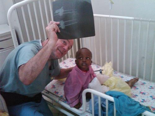 Brian S. Parsley. M.D, Haiti Earthquake, Houston