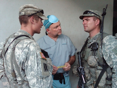 Brian S. Parsley. M.D, Haiti Recovery Initiative, Texas